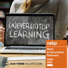 Formations Elearning EBP Devis facturation Bâtiment 2020